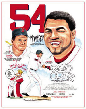 "Frank Galasso, David Ortiz of the Boston Red Sox: ""Red Sox Home Run Record"""