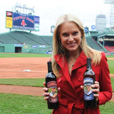 Heidi Watney with Charity Wines