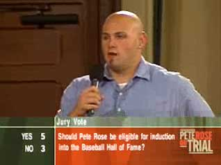 Jason Grenier on Pete Rose Jury