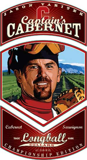 Jason Varitek, Captain's Cabernet wine