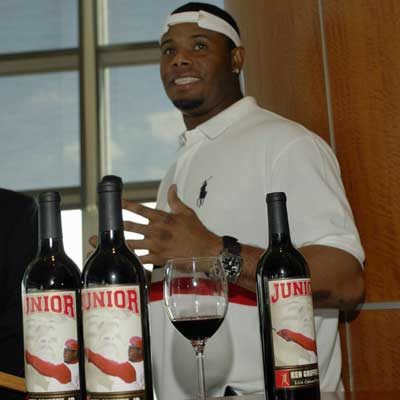 Ken Griffey, Jr. at Charity Wines Launch