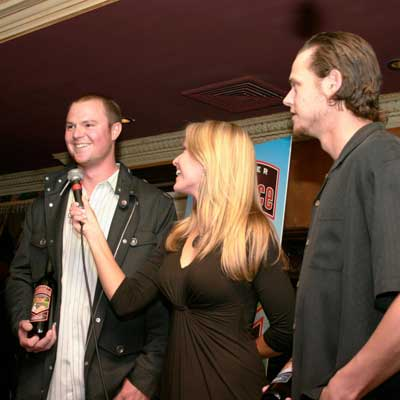 Heidi Watney Interviews Jon Lester