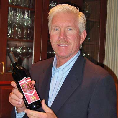 Mike Schmidt and 548 Zinfandel wine