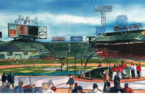 Mark Waitkus, Opening Day: Fenway Park