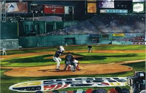 Mark Waitkus, 2007 World Series: First Pitch