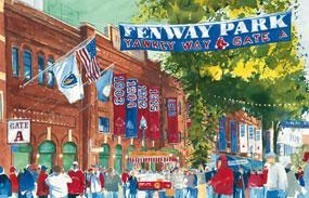 Mark Waitkus, 2004 World Series Game 1: Yawkey Way