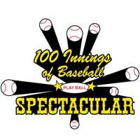 100 Innings of Baseball logo