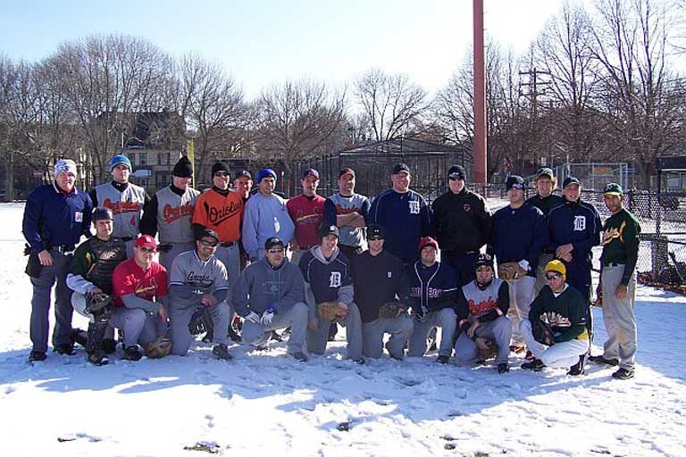 2007 Winterball baseball players
