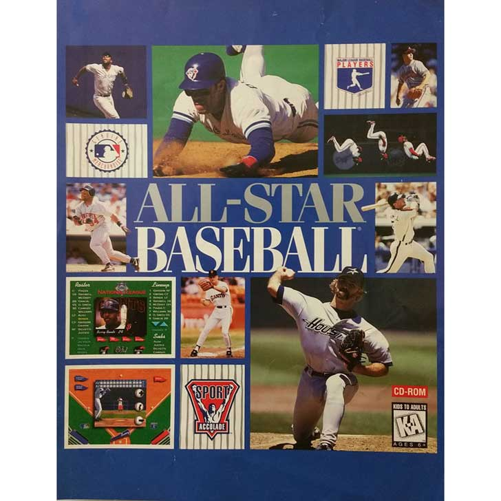 All-Star Baseball by Accolade