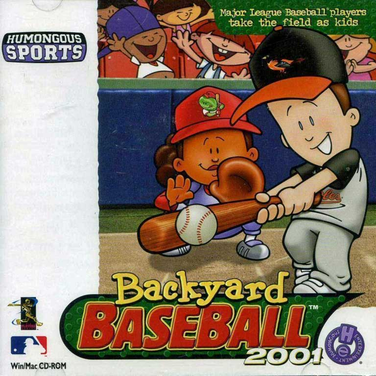 Backyard Baseball, 2001 with Cal Ripken, Jr.