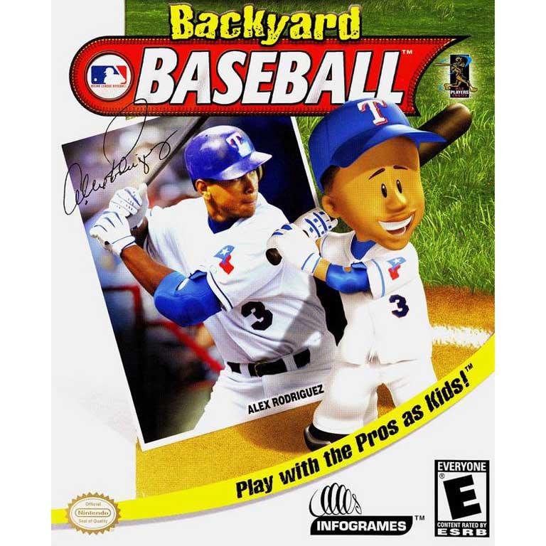 Backyard Baseball, 2004 with Alex Rodriguez