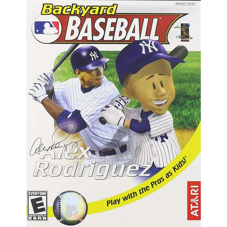 Backyard Baseball, 2005 with Alex Rodriguez