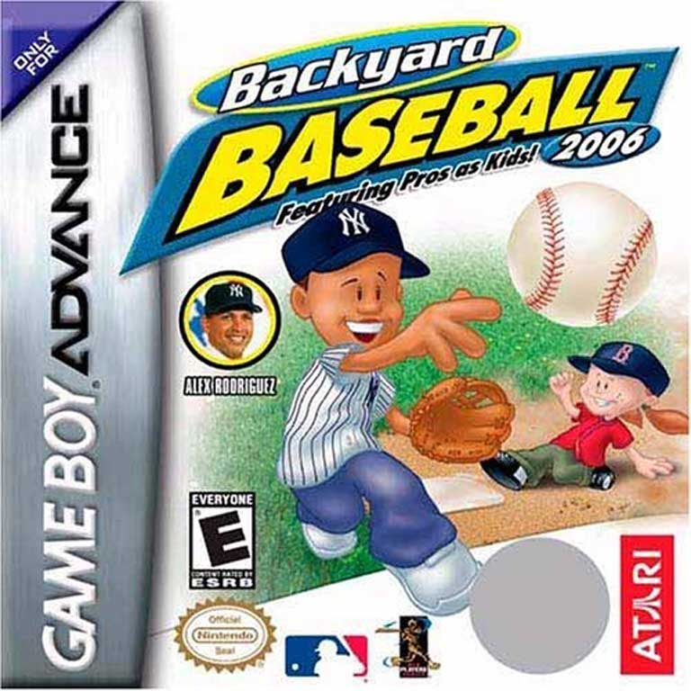 Backyard Baseball, 2006 with Alex Rodriguez