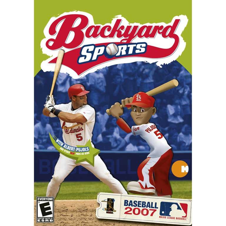 Backyard Baseball, 2007 with Albert Pujols