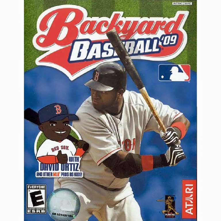 Backyard Baseball, 2009 with David Ortiz
