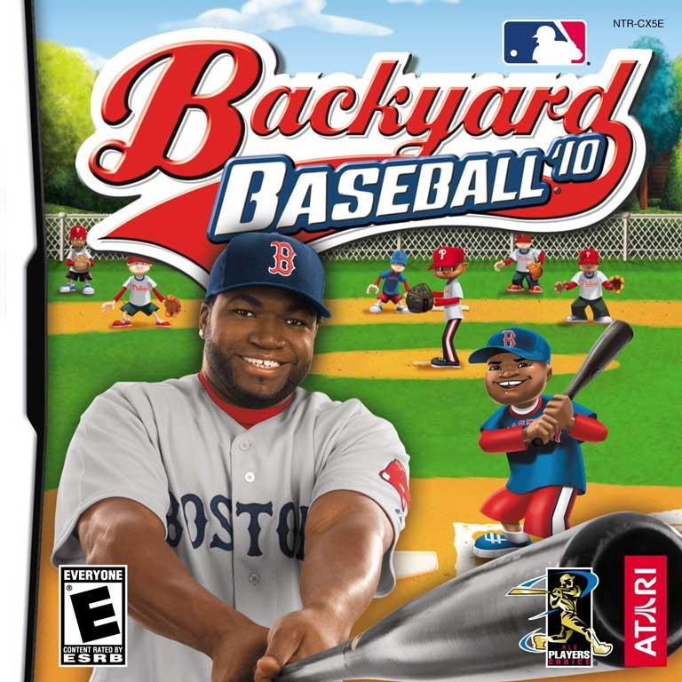 Backyard Baseball, 2010 with David Ortiz