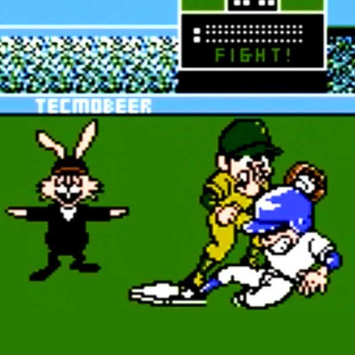Bad New Baseball Video Game Screenshot