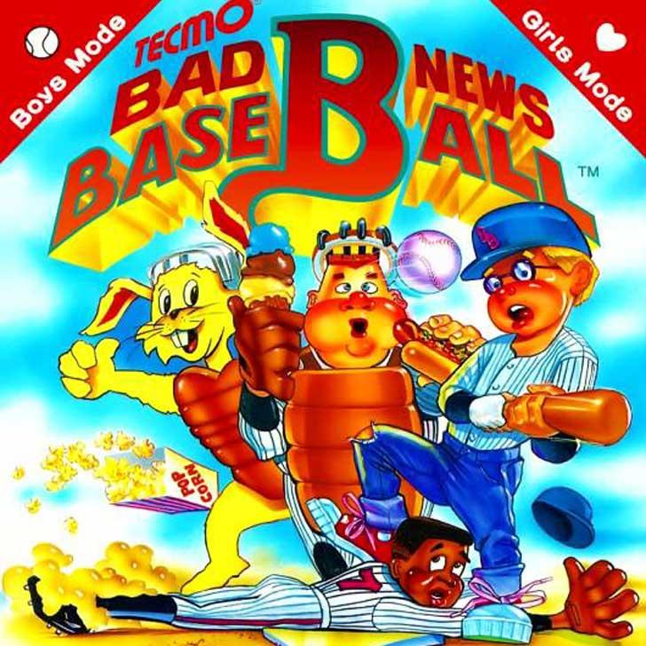 Bad New Baseball Video Game