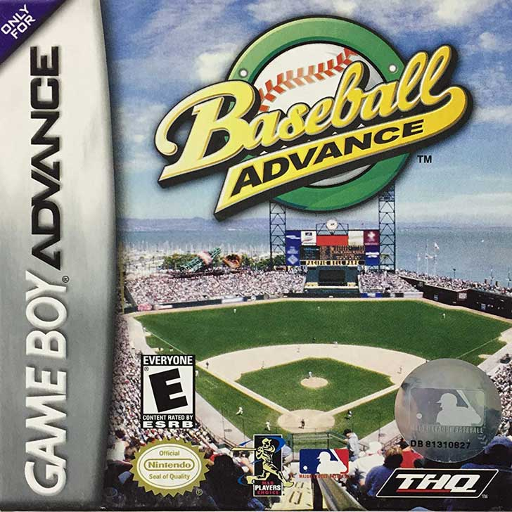 Baseball Advance for Game Boy
