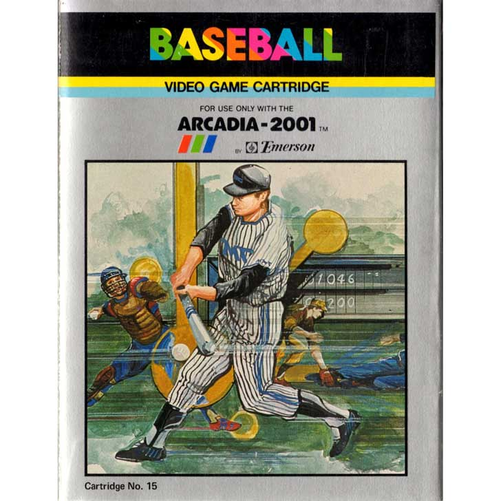 Baseball for the Arcadia 2001 by Emerson Radio Corporation