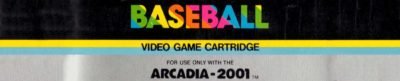 Baseball by Emerson Radio Corporation - header