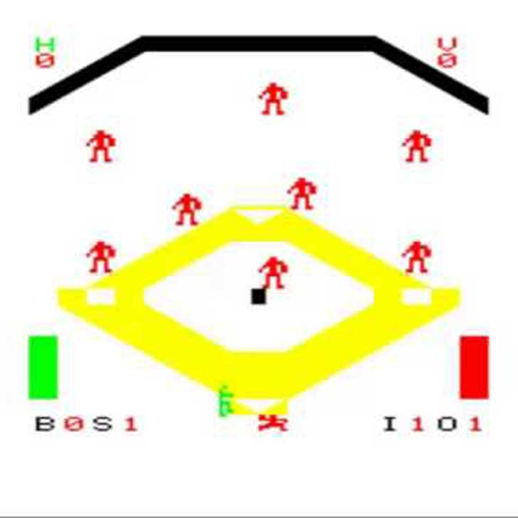Baseball for the Arcadia 2001 by Emerson Radio Corp. Screenshot