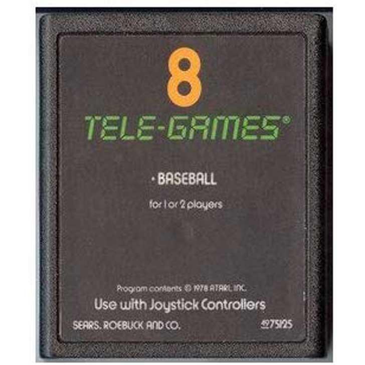 Atari Baseball Cartridge