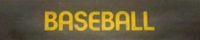 Atari Baseball - header
