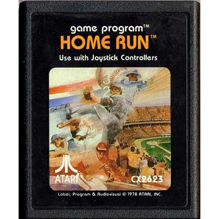 Atari Home Run Baseball Cartridge