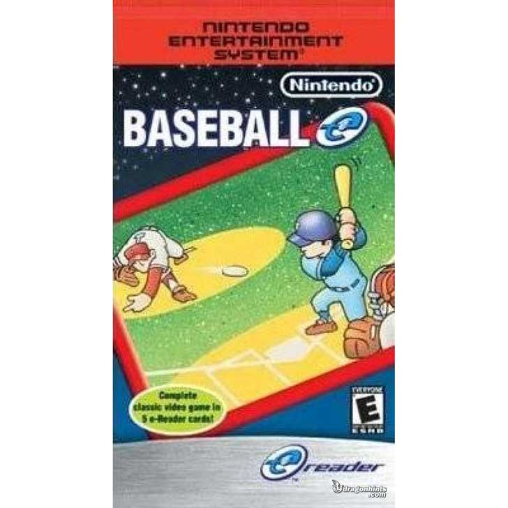 Nintendo Baseball e-Reader