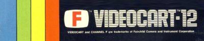 Baseball Fairchild Channel F - header