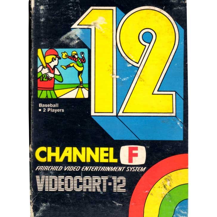 Baseball Fairchild Channel F