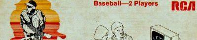 Baseball for RCA - header