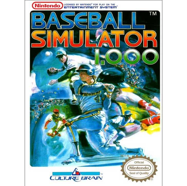 Baseball Simulator 1.000 by Culture Brain
