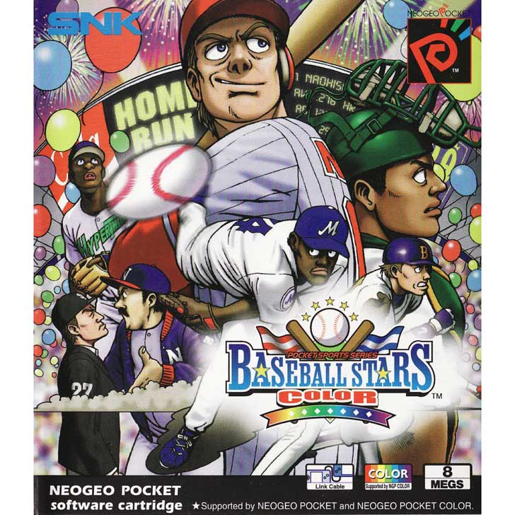 Baseball Stars Color by SNK