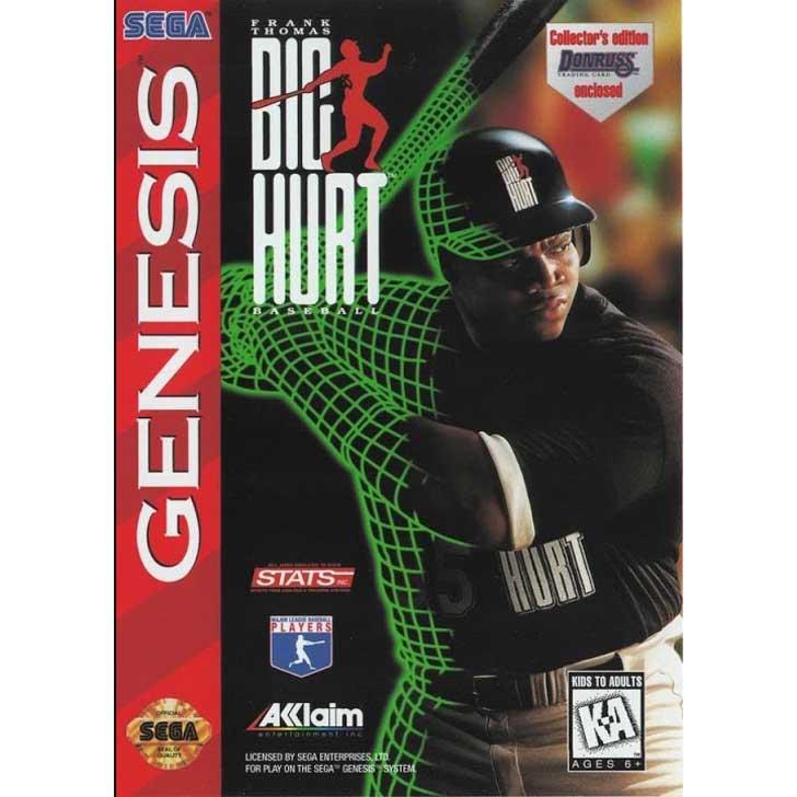 Frank Thomas Big Hurt Baseball 1996