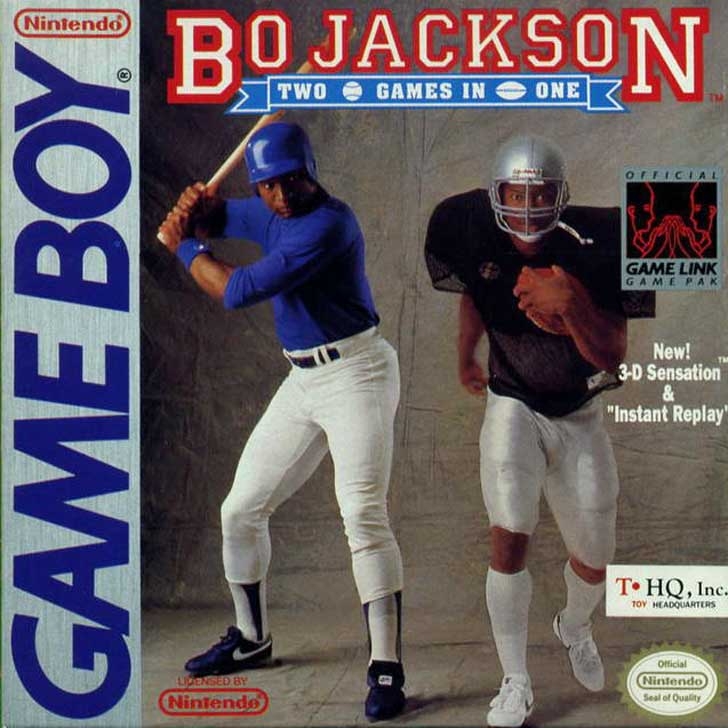 Bo Jackson Hit & Run Baseball & Football