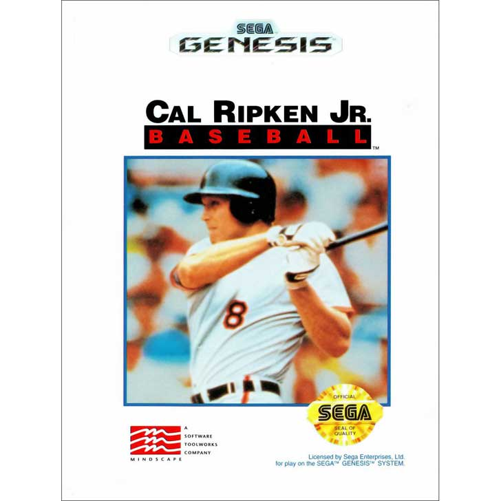 Cal Ripken, Jr. Baseball for Sega