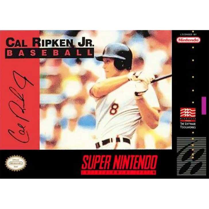 Cal Ripken, Jr. Baseball for Super Nintendo