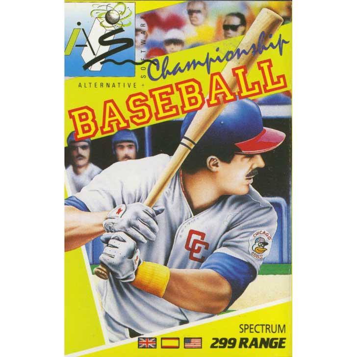 Championship Baseball by Gamestar for ZX Spectrum