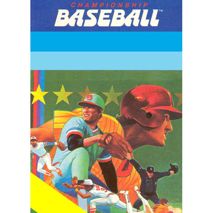Championship Baseball by Gamestar for Activision