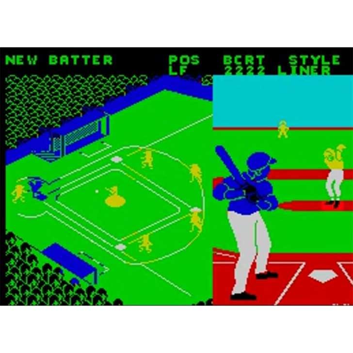 Championship Baseball by Gamestar Screenshot