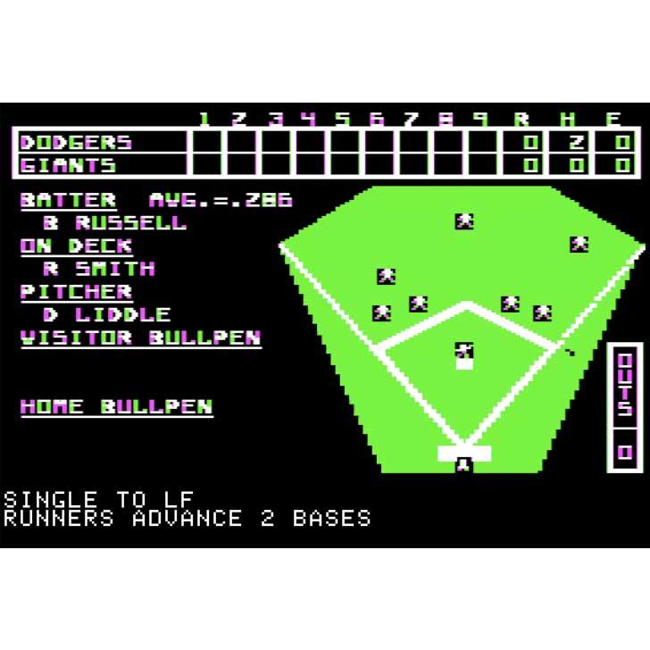 Computer Baseball Screenshot
