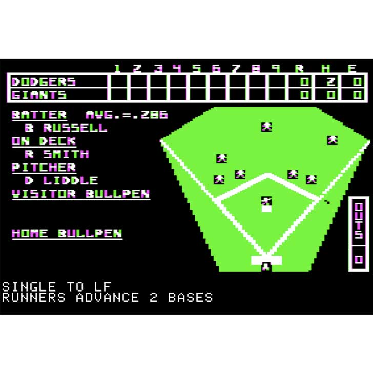 Computer Baseball Screenshot