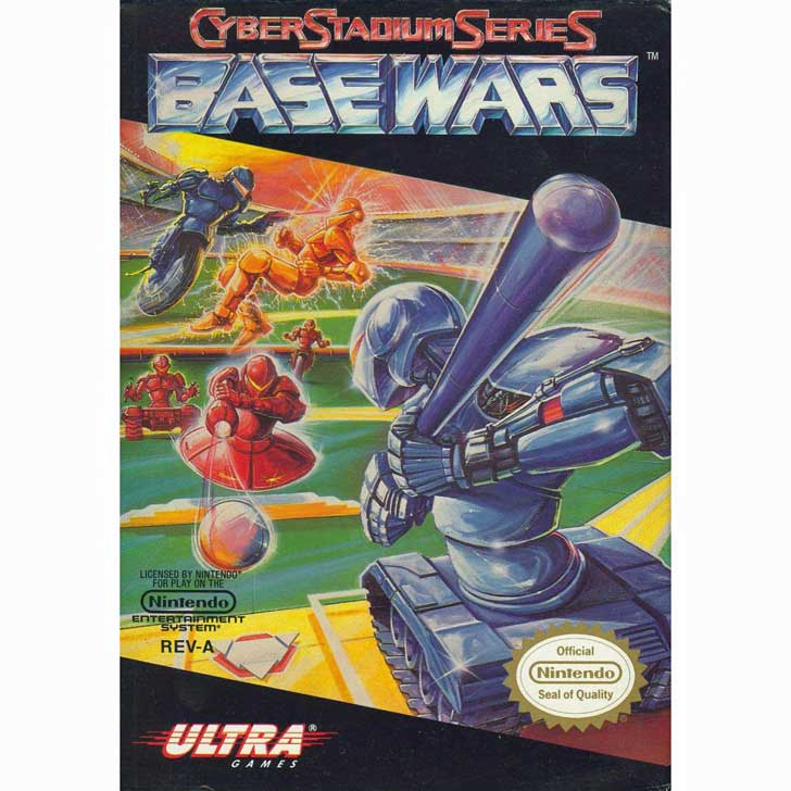 Cyber Stadium Base Wars - Baseball Video Game
