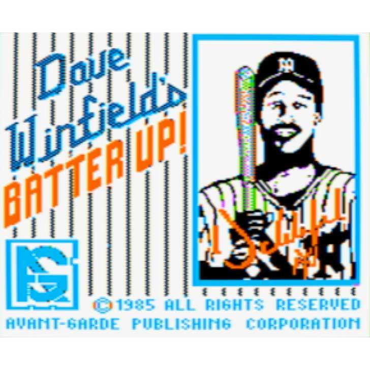 Dave Winfield's Batter Up Screenshot