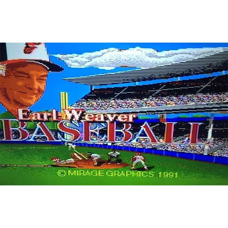 Earl Weaver Baseball Screenshot 1991