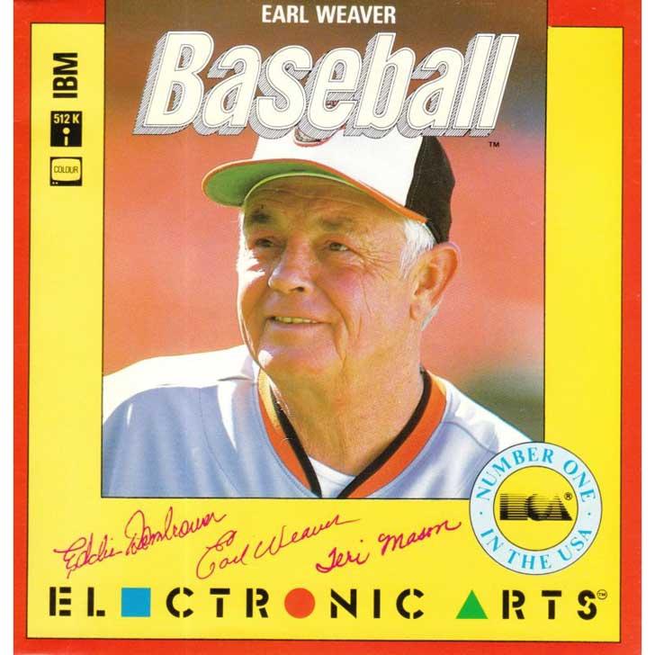Earl Weaver Baseball - Yellow Box
