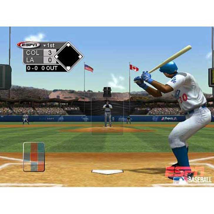 ESPN Baseball Screenshot