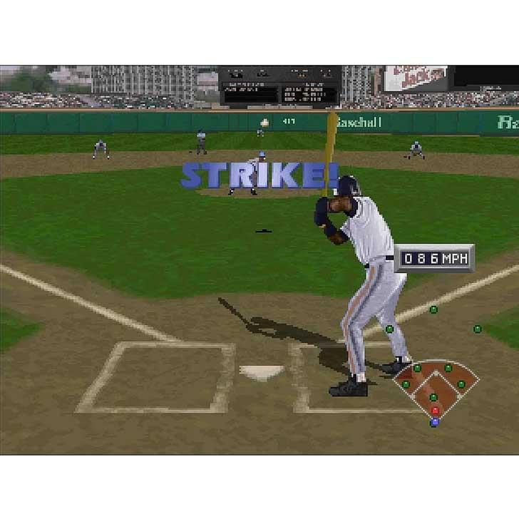 Frank Thomas Big Hurt Baseball Screenshot